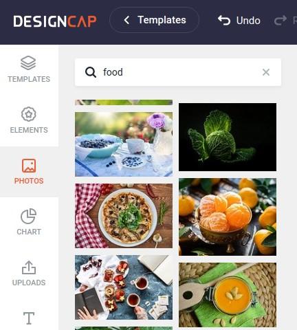 DesignCap: Fotos