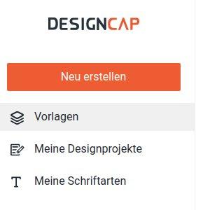 DesignCap: Seitenleiste