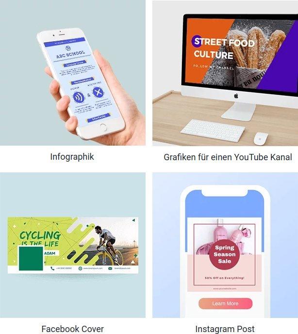 DesignCap: Webvorlagen