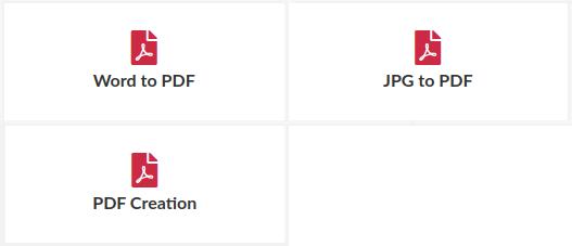 easy PDF, PDF-Erzeugung