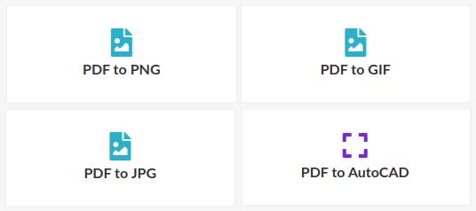 easy PDF, Konvertierung in Bilder