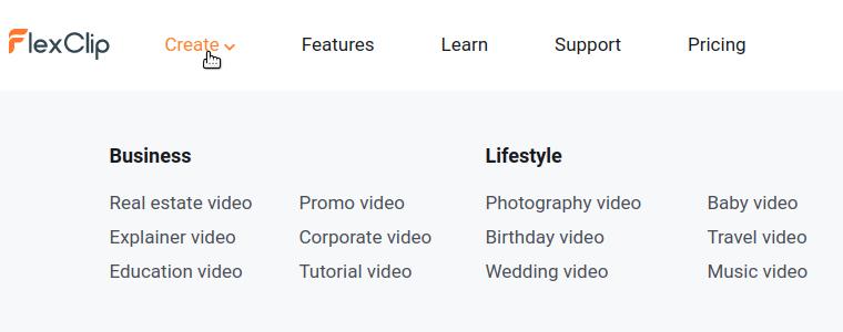 FlexClip: Create
