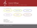 Website für die Musikerin und Musiklehrerein Annette Söllinger