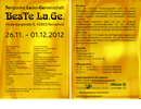 Temporäre Laden-Gemeinschaft Kunsthandwerk (BesTe La.Ge.), Flugblatt