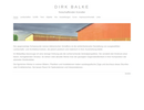 Künstler-Website Dirk Balke: Aktualisierung auf die concrete5-Version 8