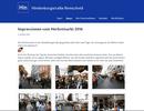 Website Hindenburgstraße: Umstellung auf das CMS <i>Pagekit</i>
