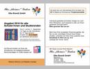 Flugblatt für Ihr kleiner Laden, Schulaktion 2018