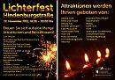 Lichterfest Hindenburgstraße Remscheid 2011