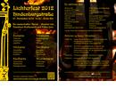 Lichterfest Hindenburgstraße Remscheid 2012, Flugblatt