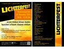 Lichterfest Hindenburgstraße Remscheid 2014, Flugblatt