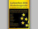 Plakat Lichterfest 2016