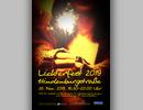 Flugblatt und Plakat für das Lichterfest in der Hindenburgstraße Remscheid