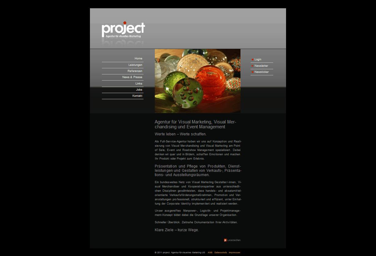 project: Agentur für visuelles Marketing UG