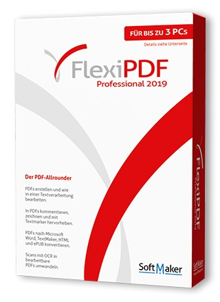 FlexiPDF Professional 2019 (Box)