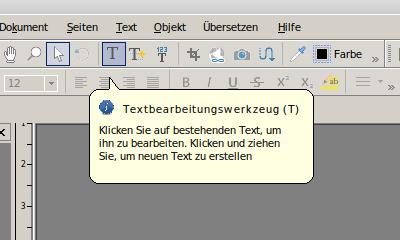 FlexiPDF Professional 2019 – Textbearbeitungswerkzeug