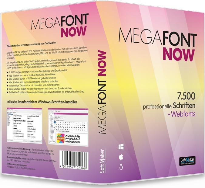 MegaFont NOW von SoftMaker